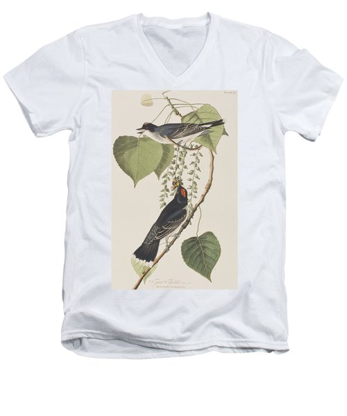 Tyrant Fly Catcher Men's V-Neck T-Shirt