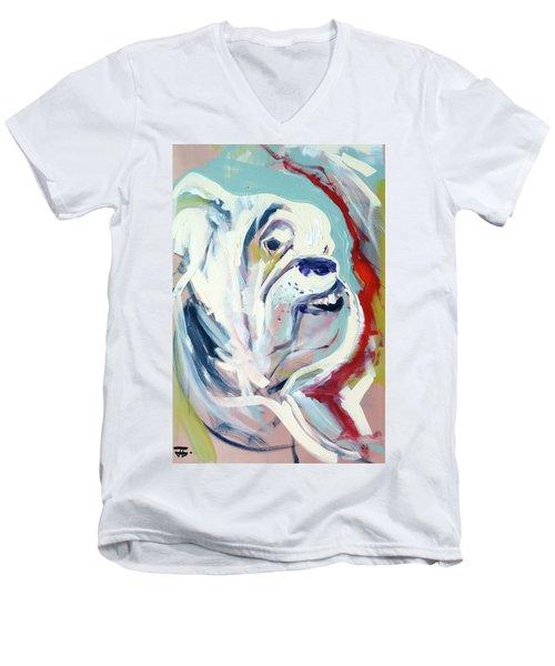 Ugga Side Men's V-Neck T-Shirt