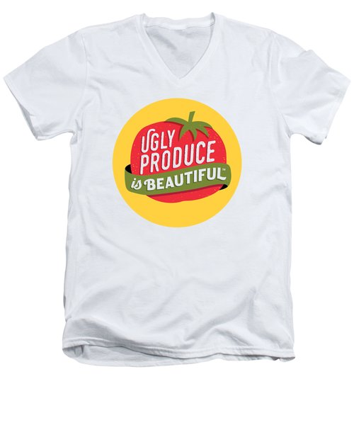 Ugly Produce Is Beautiful Men's V-Neck T-Shirt