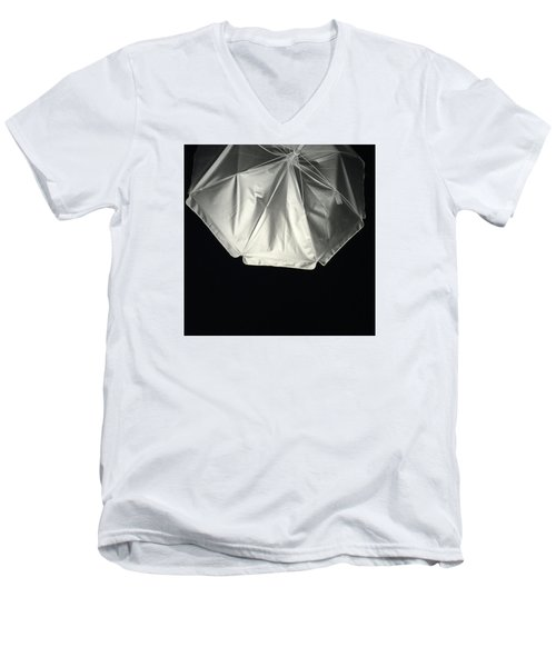 Men's V-Neck T-Shirt featuring the photograph Umbrella by Karen Nicholson