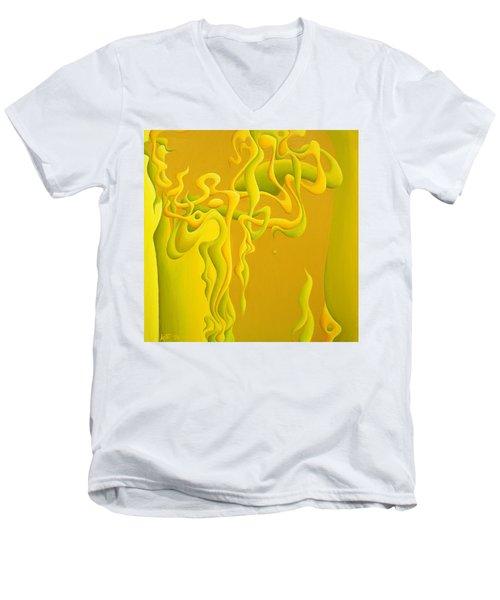 Unbridaled Innocence Men's V-Neck T-Shirt