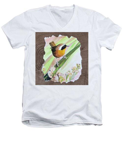 Uncommon Yellowthroat Men's V-Neck T-Shirt
