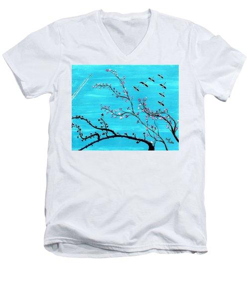 Under A Tree Men's V-Neck T-Shirt