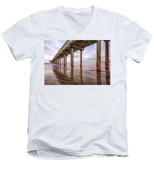 Under Scripps Men's V-Neck T-Shirt by Joseph S Giacalone