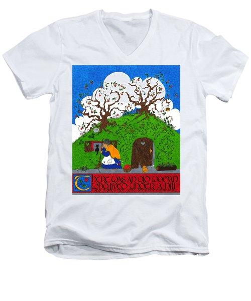 Under The Hill Men's V-Neck T-Shirt