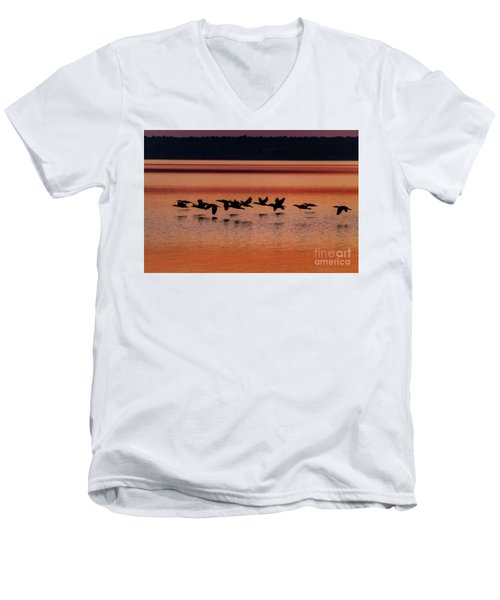 Under The Radar Men's V-Neck T-Shirt