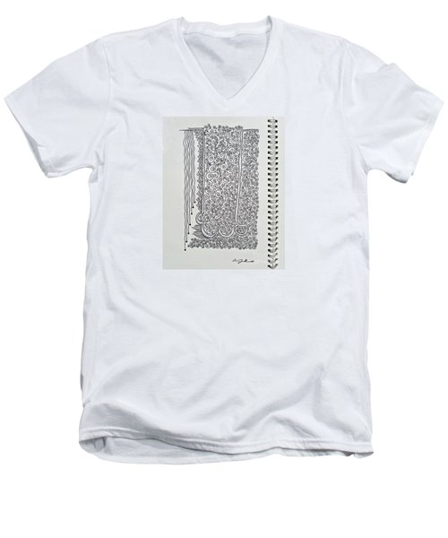 Sound Of Underground Men's V-Neck T-Shirt by Fei A