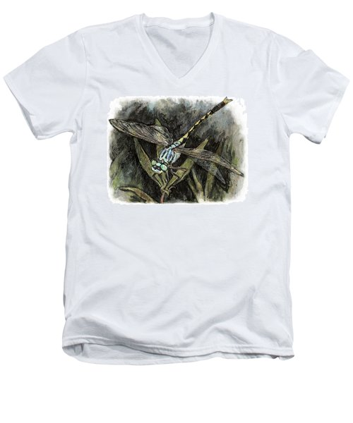 Unicorn Clubtail Men's V-Neck T-Shirt