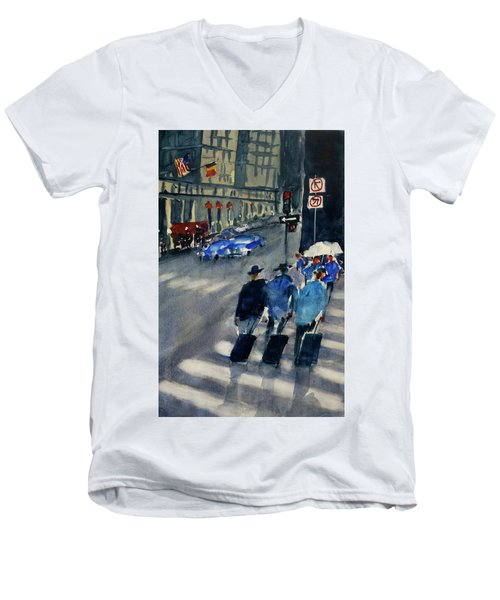 Union Square1 Men's V-Neck T-Shirt