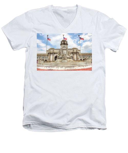 Union Station Men's V-Neck T-Shirt