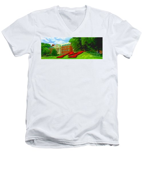 University Of Maryland  Men's V-Neck T-Shirt