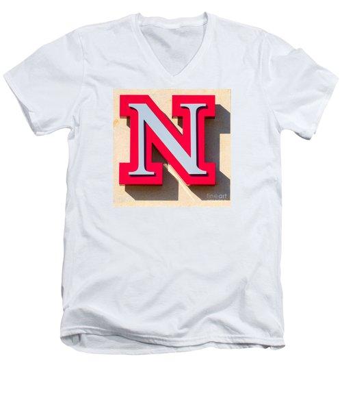 UNL Men's V-Neck T-Shirt