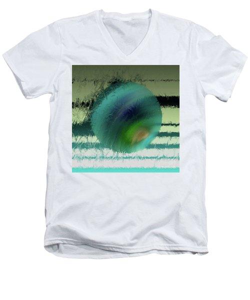 Unraveled 2 Men's V-Neck T-Shirt by John Krakora