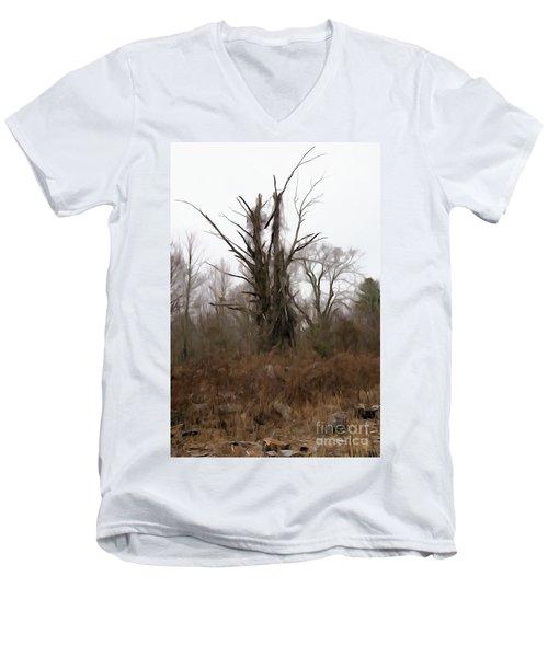 Unsplitten Love Men's V-Neck T-Shirt