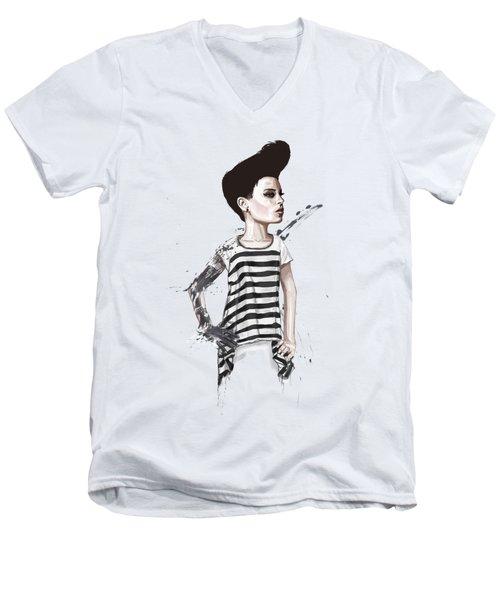 untitled II Men's V-Neck T-Shirt