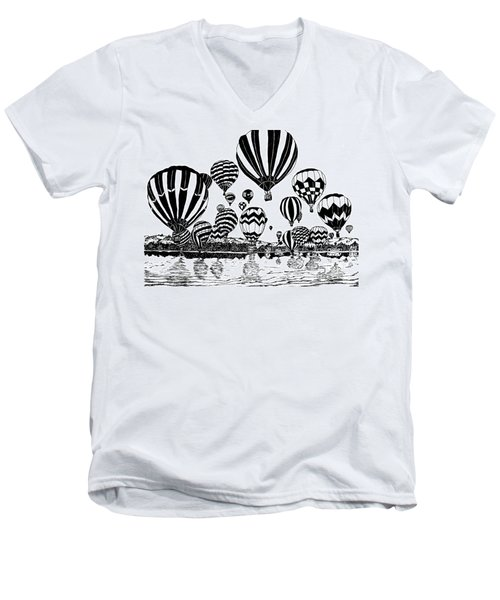 Up In The Air Men's V-Neck T-Shirt