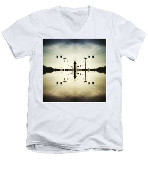 Up In The Sky Men's V-Neck T-Shirt