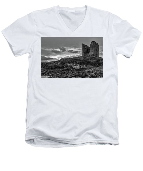 Upcomming Myth Bw #e8 Men's V-Neck T-Shirt by Leif Sohlman
