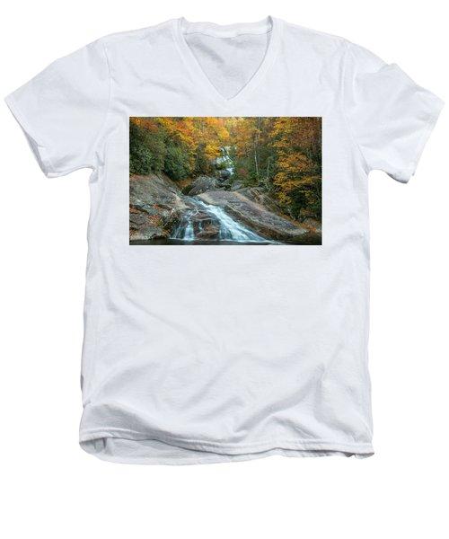Upper Creek Autumn Paradise Men's V-Neck T-Shirt