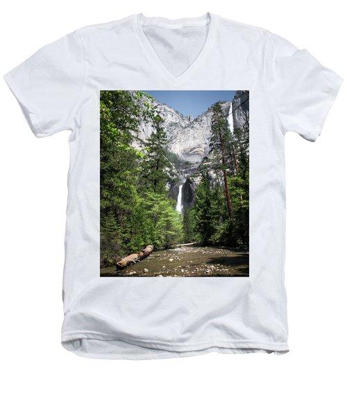 Upper Lower Men's V-Neck T-Shirt by Ryan Weddle