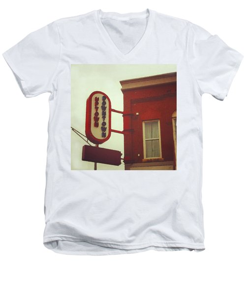 Uptown Downtown  Men's V-Neck T-Shirt