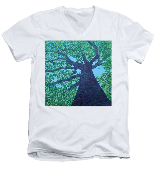 Upward Treejectory Men's V-Neck T-Shirt