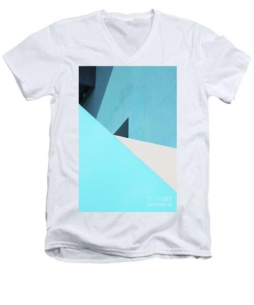 Urban Abstract 3 Men's V-Neck T-Shirt