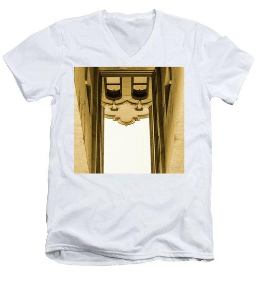 Urban Portals - Architectural Abstracts Men's V-Neck T-Shirt