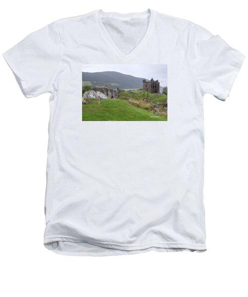Urquhart Castle - Drumnadrochit Men's V-Neck T-Shirt