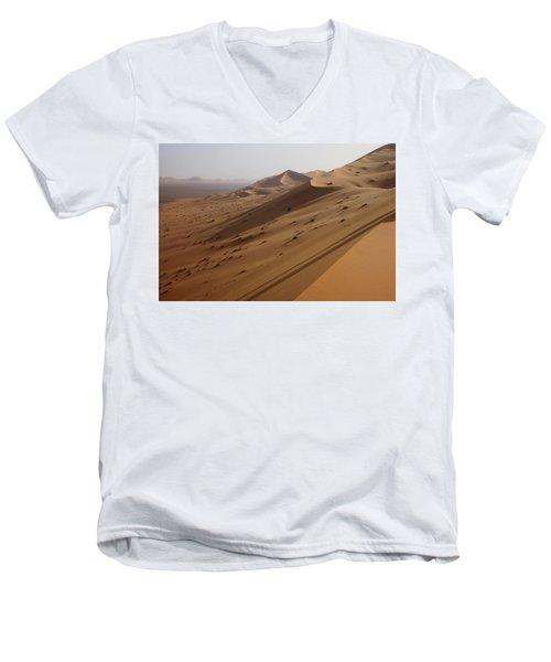 Uruq Bani Ma'arid 4 Men's V-Neck T-Shirt