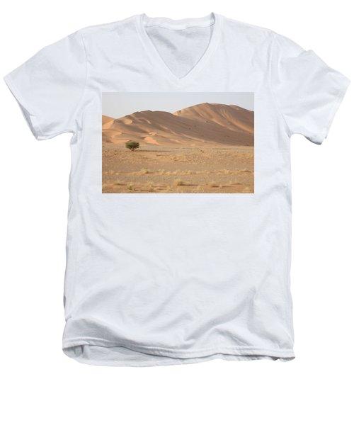 Uruq Bani Ma'arid 5 Men's V-Neck T-Shirt