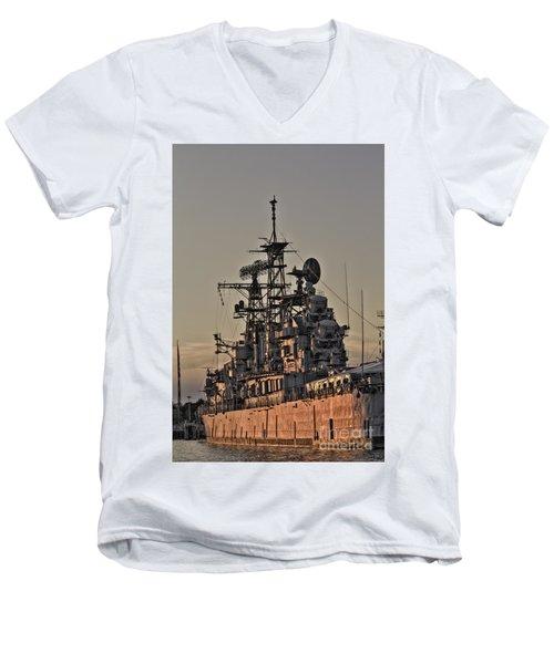 U.s.s Little Rock Men's V-Neck T-Shirt