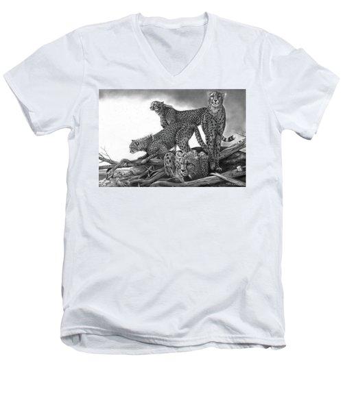 Vantage Men's V-Neck T-Shirt