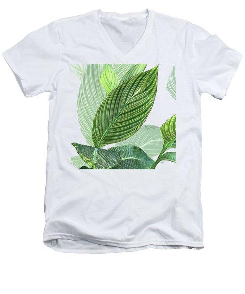 Variegated Men's V-Neck T-Shirt