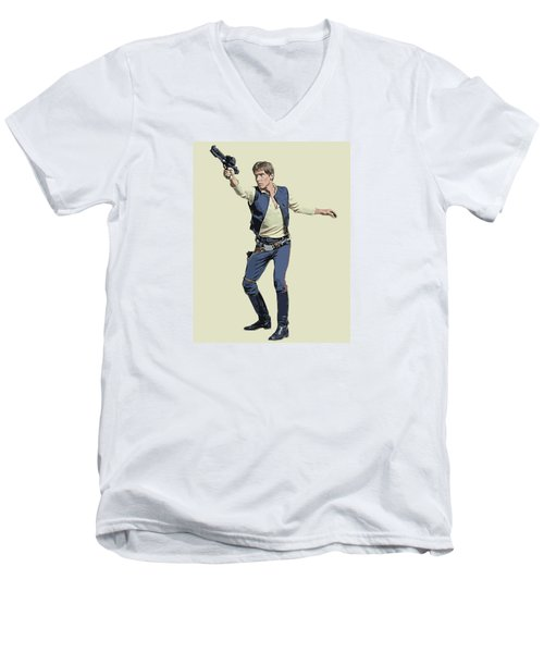 Vector Solo Men's V-Neck T-Shirt