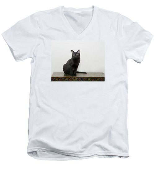Velvet Men's V-Neck T-Shirt