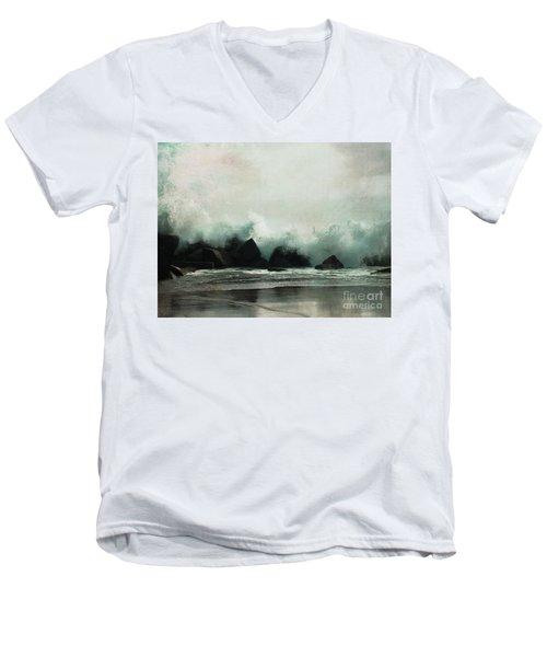 Venice Beach, California Men's V-Neck T-Shirt