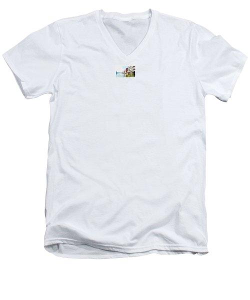 Venice Men's V-Neck T-Shirt by Maciek Froncisz