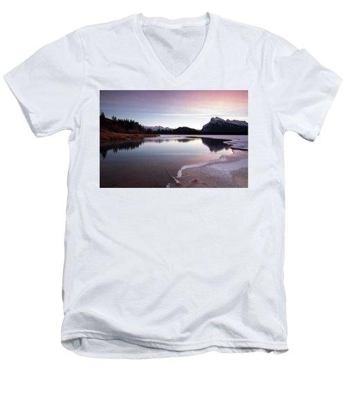 Vermillion Ice Break Men's V-Neck T-Shirt
