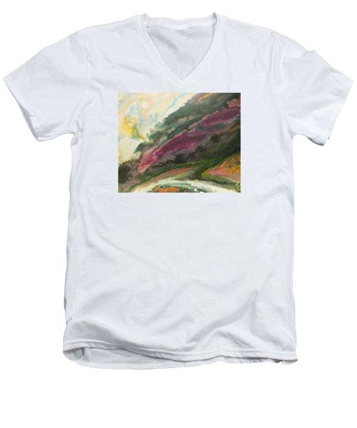 Vers La Tendresse Men's V-Neck T-Shirt