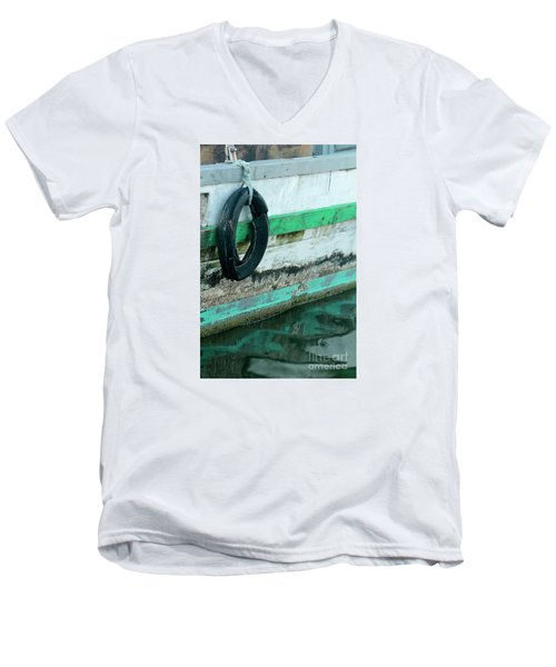 Men's V-Neck T-Shirt featuring the photograph Veteran by Joe Jake Pratt