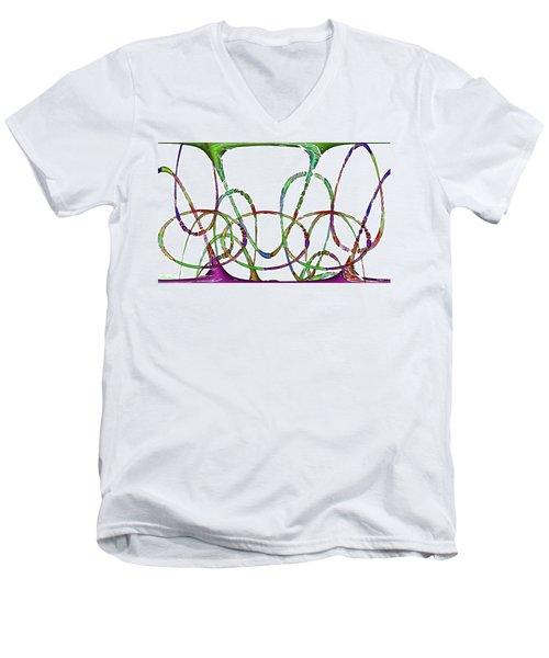 Vibrations Men's V-Neck T-Shirt