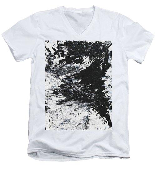 Victory Men's V-Neck T-Shirt by Ralph White