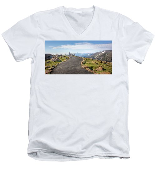 View At The Top Men's V-Neck T-Shirt