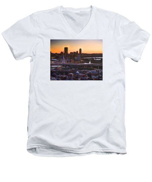 View From The Monument 015 Men's V-Neck T-Shirt