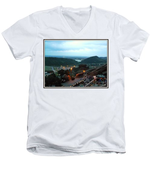 View From The Top 2 Men's V-Neck T-Shirt
