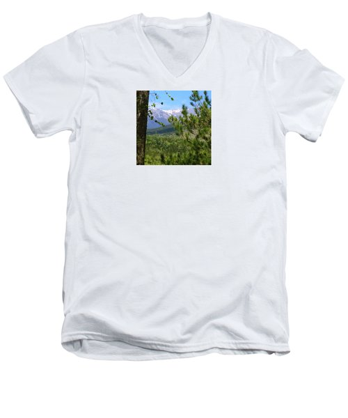 Views Of Katahdin Men's V-Neck T-Shirt