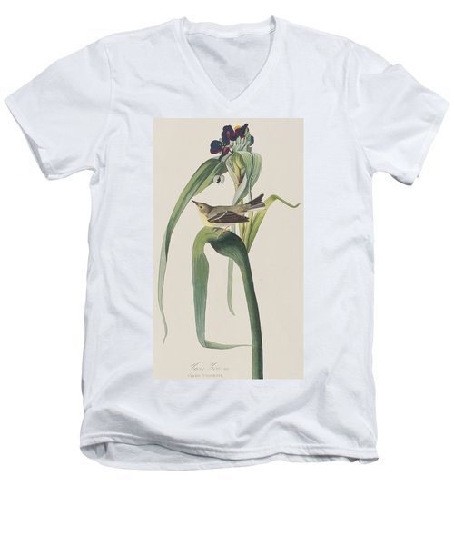 Vigor's Warbler Men's V-Neck T-Shirt