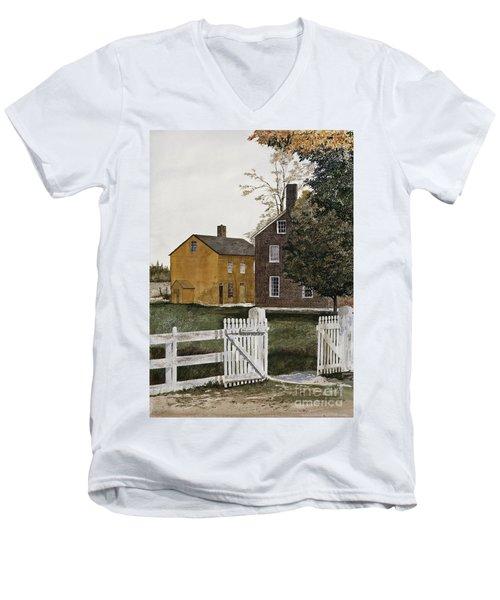Village Gate Men's V-Neck T-Shirt