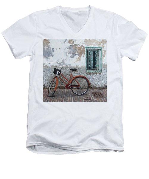 Vintage Series #3 Bike Men's V-Neck T-Shirt
